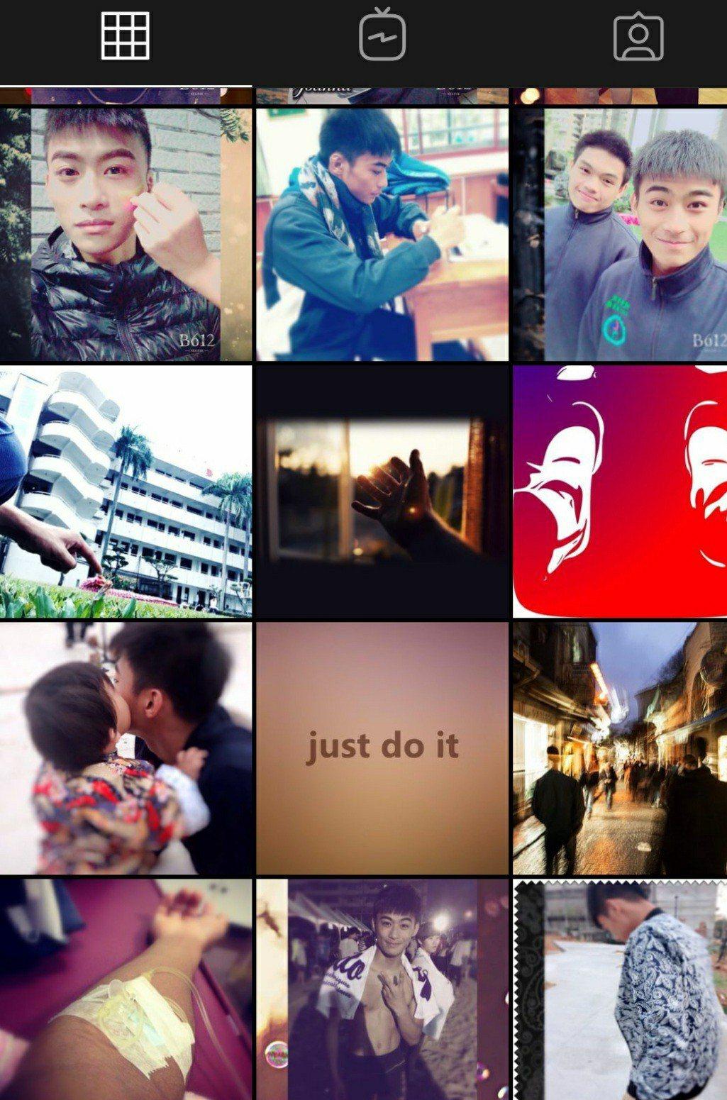 奧運柔道銀牌的楊勇緯成知名人物,他的ig照片中,寫下「just do it 」。...