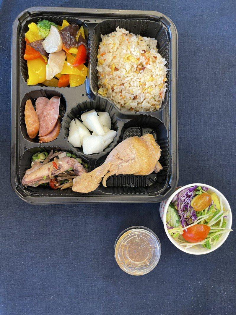 苗栗縣公館鄉農會與巧軒餐廳合作,推出「紅棗飯兜」,接受20個以上、150個以下團體預約。圖/公館鄉農會提供