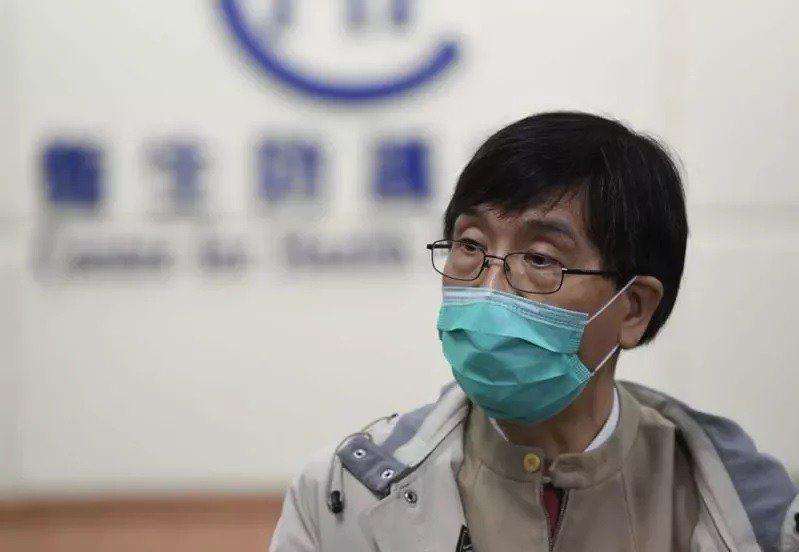 香港政府專家顧問、港大微生物學系講座教授袁國勇。中通社