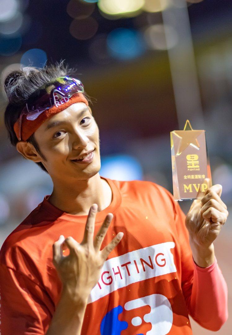 曹佑寧在「全明星2」中三度奪下MVP。圖/台視提供