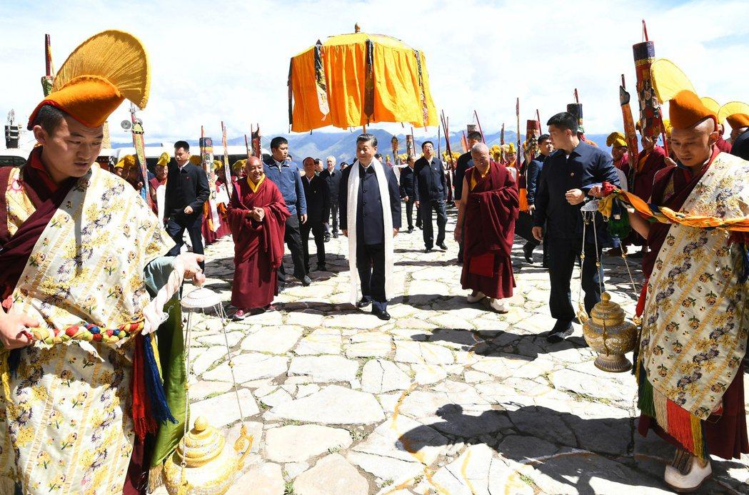 大陸國家主席習近平日前對西藏進行考察。環球網