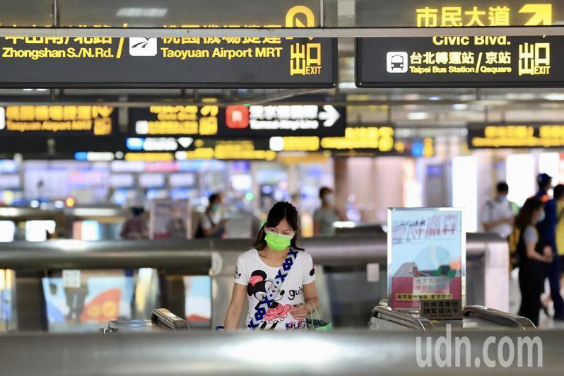 台鐵台北車站傳4清潔人員確診,其中2人住北市,目前足跡涉及公廁已清消完畢。聯合報系資料照