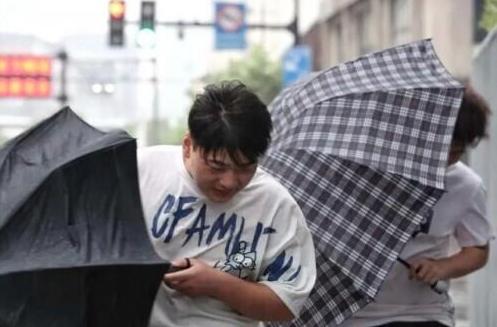 煙花颱風將在上海二次登陸,陣風可達十二級,上海市政府要求民眾待在家裡,滅少外出,...