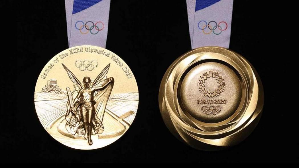 為製作東奧獎牌,東奧組委會自2017年4月起向公眾募集並回收電子設備。 圖/摘自...