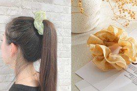 5款今夏必備髮飾:韓系金屬鯊魚夾、日系大腸圈、珍珠髮夾…一秒完成小姐姐髮型