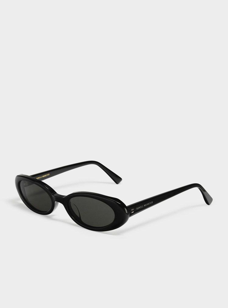 GENTLE MONSTER的Dua 01橢圓型框太陽眼鏡。圖/GENTLE M...
