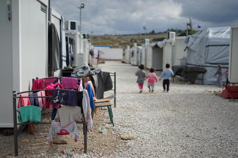 雅典郊區的敘利亞難民營。(圖/Unsplash)