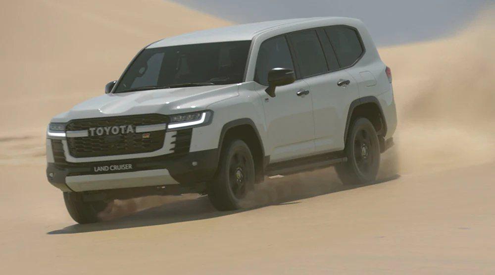 目前Toyota只針對Land Cruiser 300的買家祭出此協議。 摘自T...