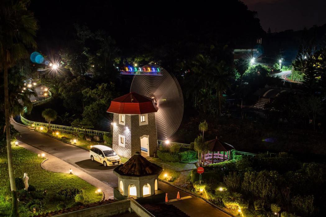 馬武督夜景。統一渡假村∕提供