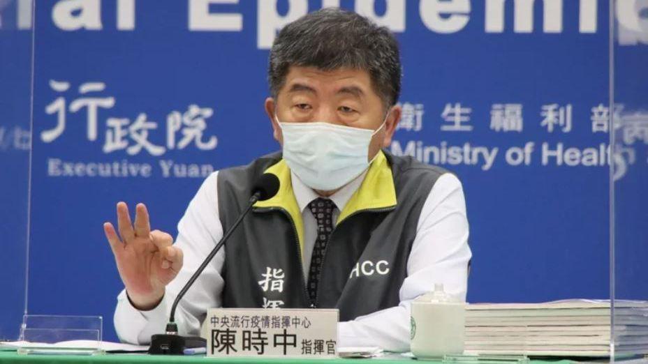 三級警戒解除倒數,指揮官陳時中下午2時親自主持記者會。圖/指揮中心提供