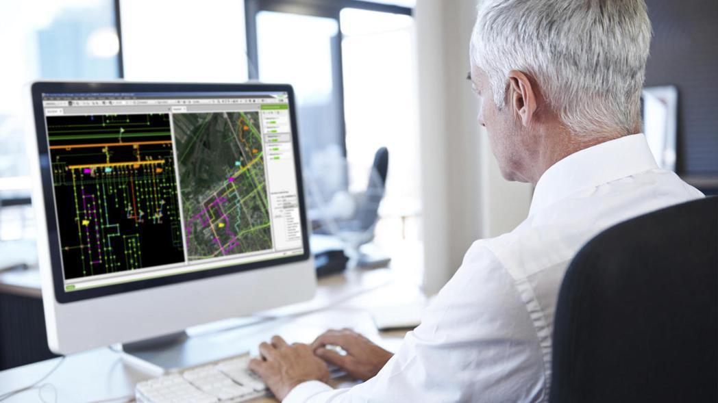 施耐德電機EcoStruxure™ ADMS(先進配電管理系統)讓電力公司可以有...