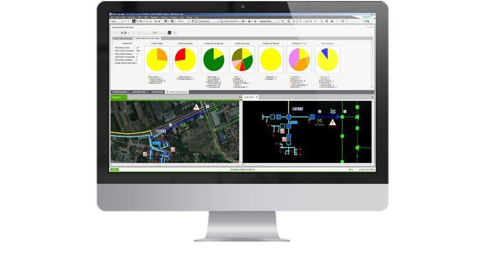 施耐德電機ADMS解決方案已受世界多國採用,供應超過1億終端用戶。 施耐德/...