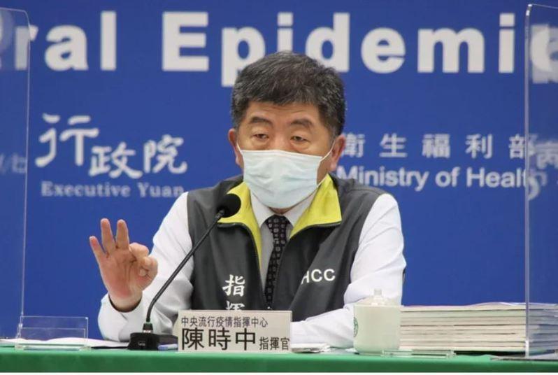指揮官陳時中每天處理疫苗的採購、分配與施打,常常充滿矛盾與反覆。圖/指揮中心提供