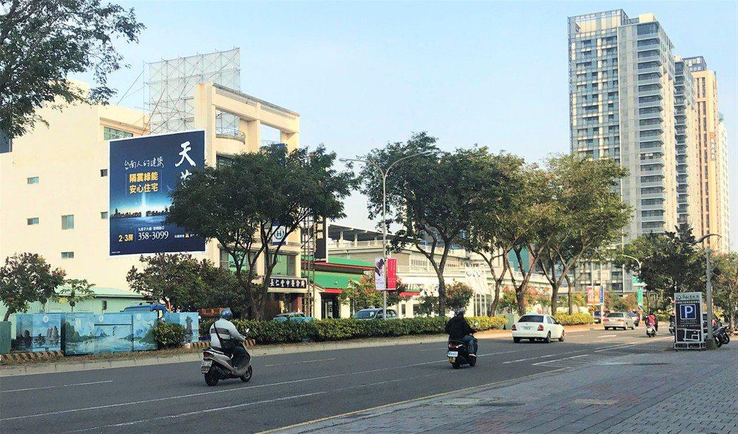 台南房市示意圖。記者游智文/攝影