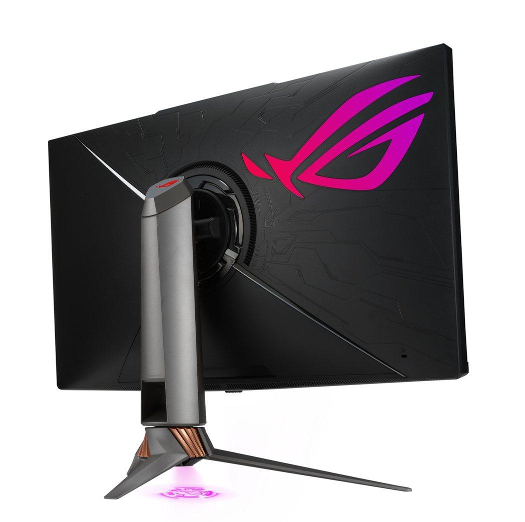 華碩旗下ROG玩家共和國推出兩款旗艦電競螢幕,32吋Mini LED「ROG S...