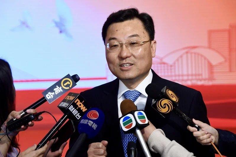 大陸外交部副部長謝鋒。圖/取自中通社