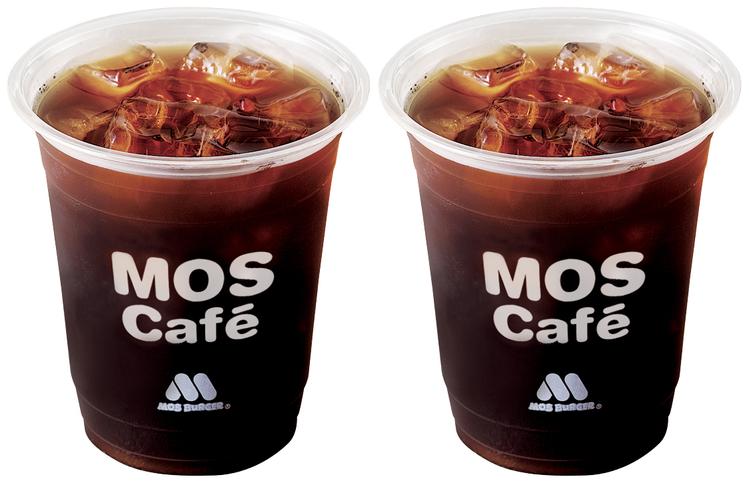 摩斯漢堡推出「咖啡買1送1」的限時優惠。圖/摩斯漢堡提供