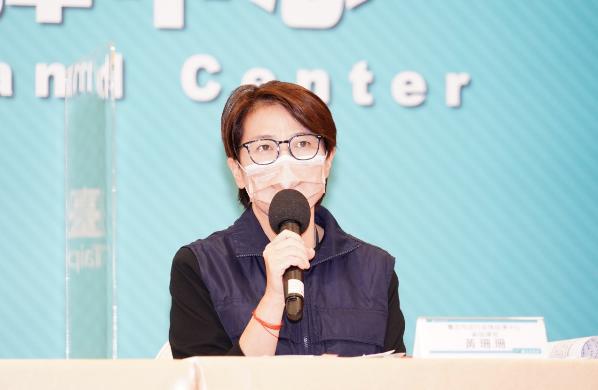 黃珊珊今天表示,很多防疫影片都是向市民報告,也報告台北市有哪些新政策,沒有去想選...