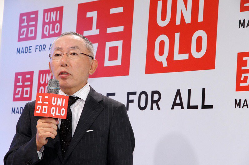 UNIQLO社長柳井正2011年來台為旗艦店開幕暖身。圖/聯合報系資料照片