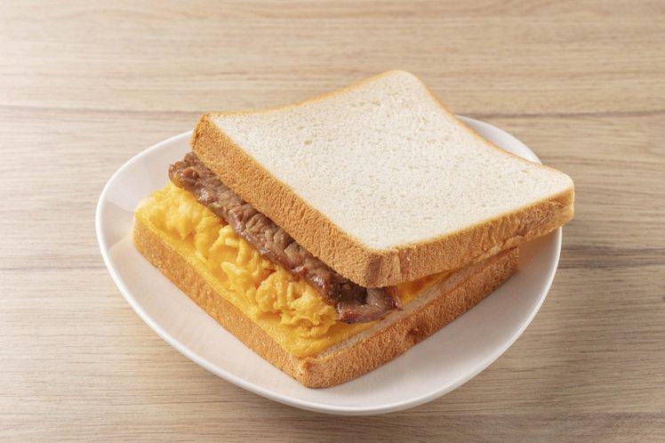 Read Bread × 豐盛號肉蛋三明治,售價68元。圖/全聯福利中心提供