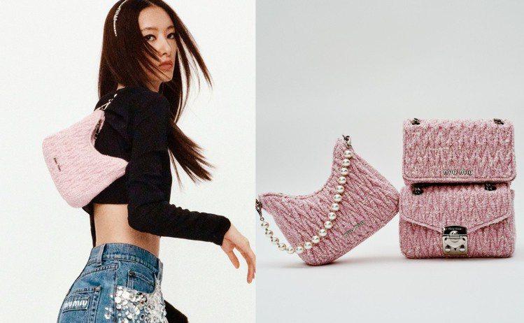 為了迎接即將到來的七夕情人節,MIU MIU也推出了特別系列商品,主打甜美粉紅色...