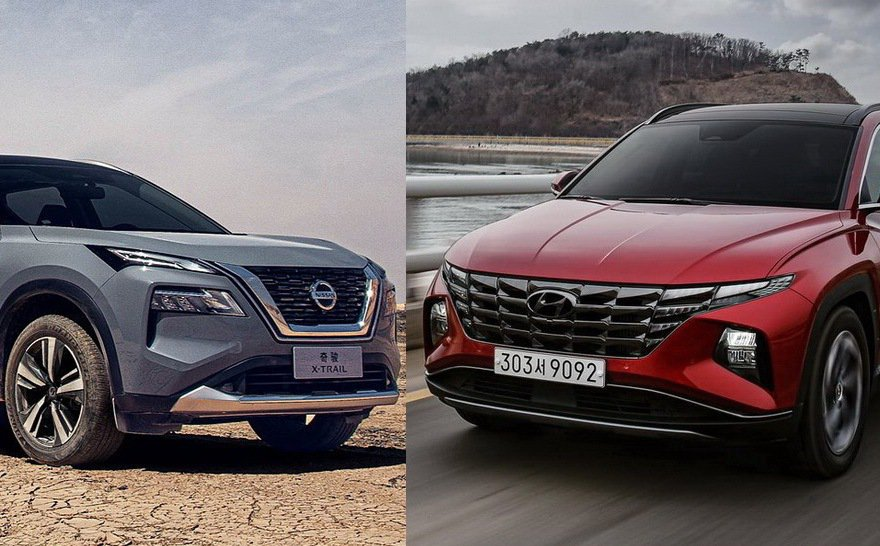Hyundai Tucson及Nissan X-Trail將成為後續國產休旅版塊...