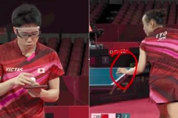 桌球混雙中國慘遭滑鐵盧 陸網友控日本奪金選手雙雙違規