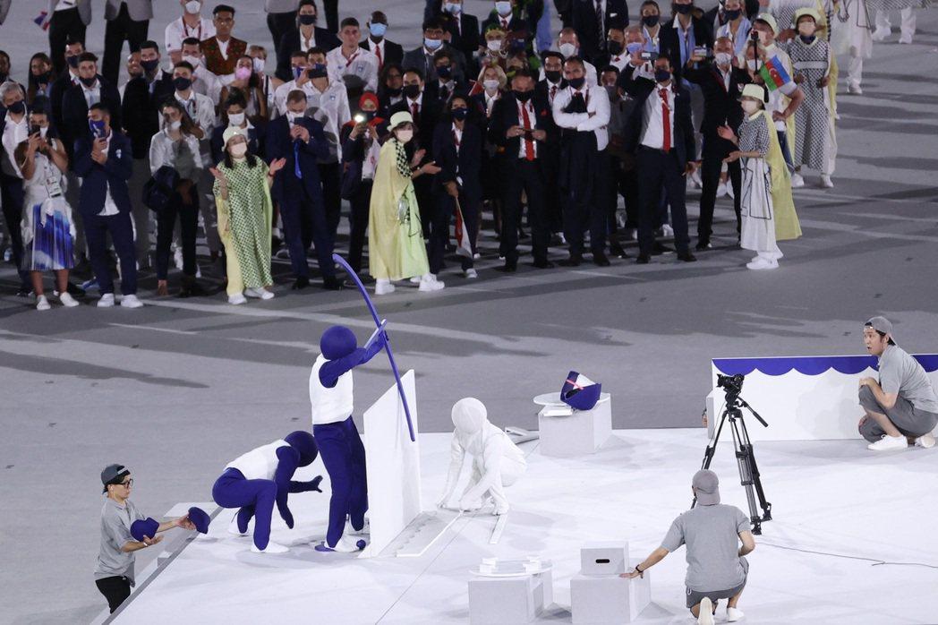 東京奧運 23 日晚間正式開幕,開幕典禮表演將經典綜藝節目「超級變變變」搬上舞台...