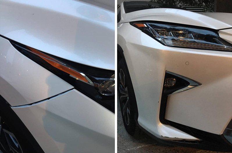 一位女網友表示,朋友開車不小心劃傷另輛車,被索賠19萬,上網求問金額是否合理。圖擷自《爆怨2公社》