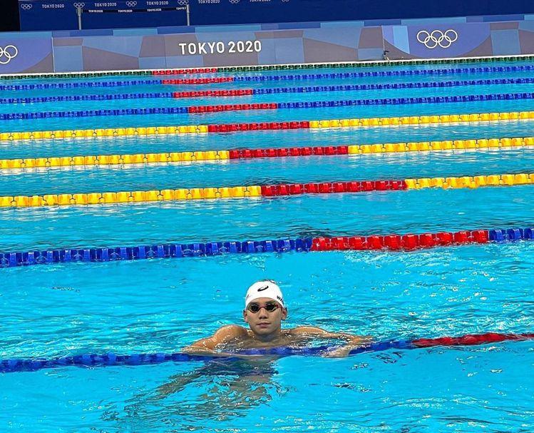 游泳國手王冠閎雖然在200公尺蝶式複賽中,未能如願,但他於預賽時的成績,還是締造...