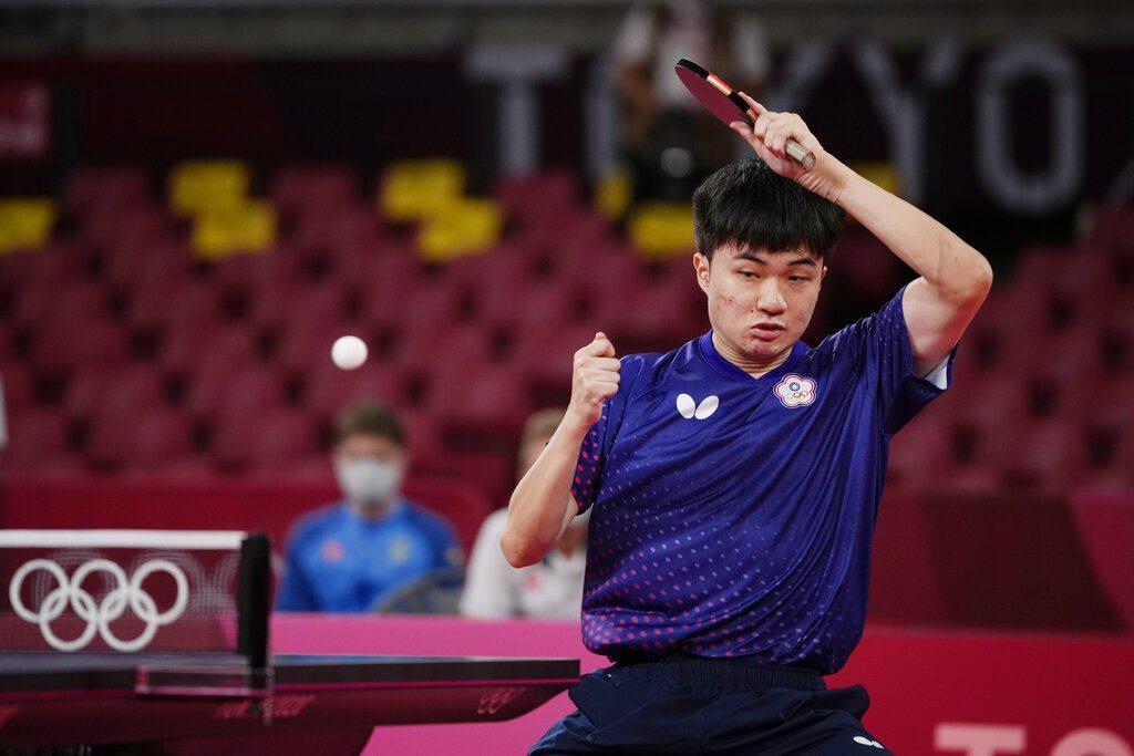 林昀儒仍是頂住壓力在第6局拉鋸戰中險勝,一日兩勝搶下8強門票。 美聯社