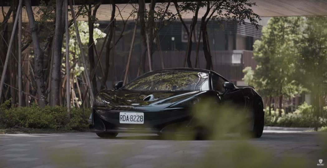 王陽明的愛車McLaren 600LT將出售。 截自Empire Motor C...