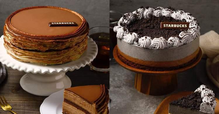 圖/儂儂提供 法式巧克力千層薄餅 6吋 1,080元、芝麻巧克力蛋糕 6吋 ...