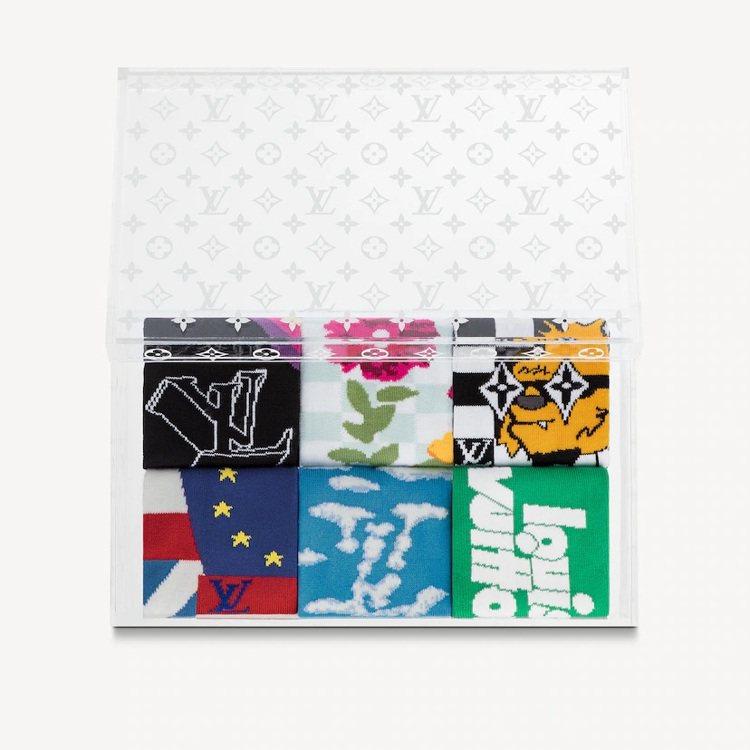 LV Archives襪子套裝,77,500元。圖/取自LV官網