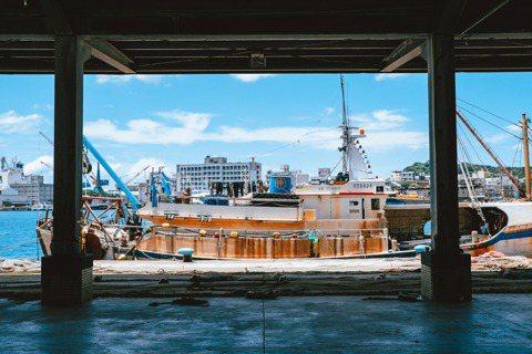 正濱漁港。 圖/星濱山Zhengbin Art提供