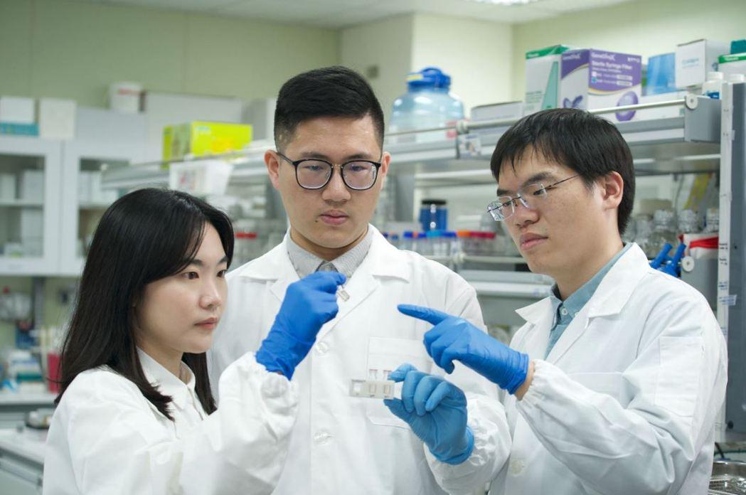 台灣納諾帕瑪公司實驗室。台灣納諾帕瑪公司/提供