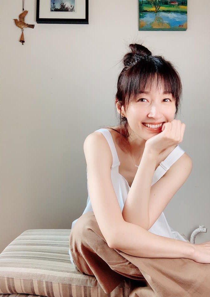 田中千繪。圖/摘自臉書