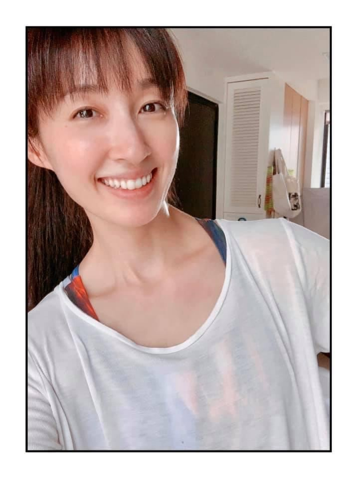 田中千繪住在台灣15年,對台灣有深厚情感。圖/摘自臉書