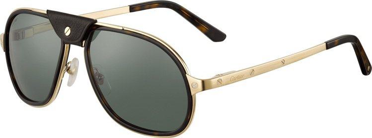 卡地亞Santos de Cartier太陽眼鏡,32,500元。圖/卡地亞提供