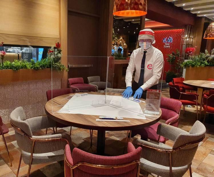 瓦城泰統集團旗下餐廳,自即日起逐步開放內用。圖/瓦城泰統提供