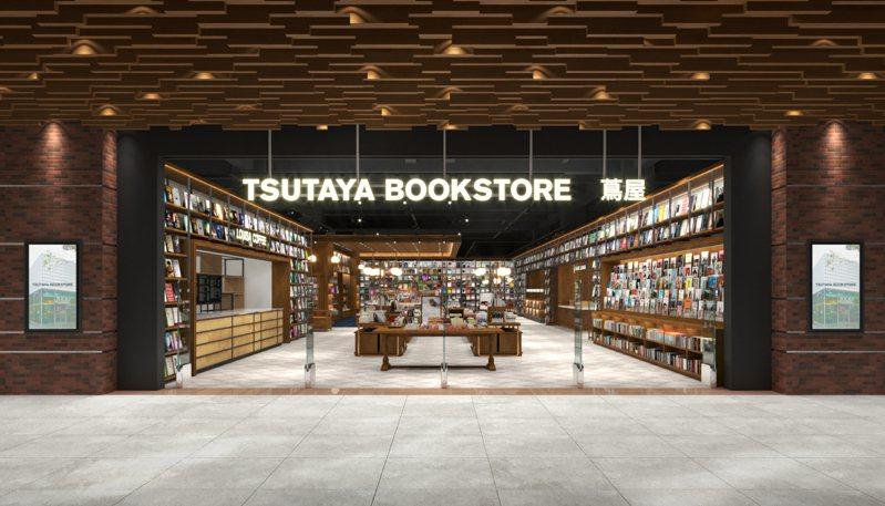 全新的TSUTAYA BOOKSTORE松山店預計8月中下旬登場。圖/潤泰集團提供