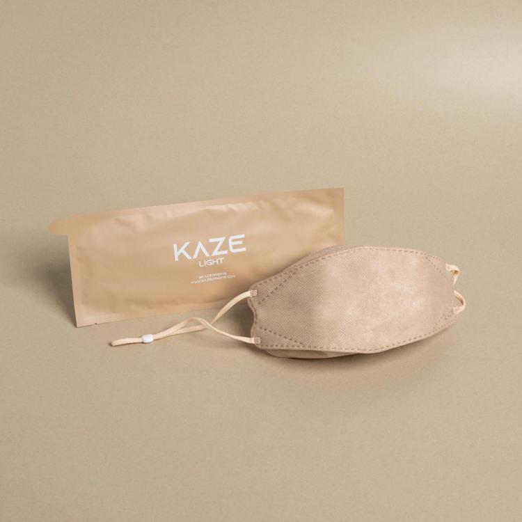 KAZE時尚玩色立體口罩輕巧造型Light全系列共精選6款,每款5色,1,000...