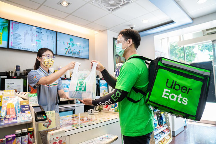 7-ELEVEN將於7月29日起與Uber Eat攜手合作,提早完成即將上線的「...