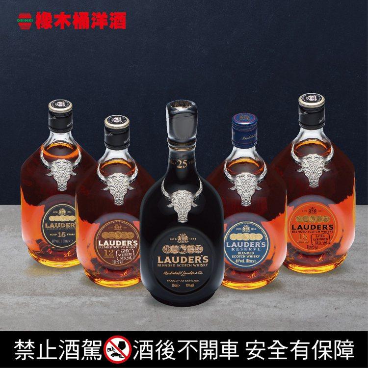 蘇格蘭熱銷威士忌品牌勞德老爺,具備甜美柔順的重雪莉風味。圖/橡木桶洋酒提供。提醒...