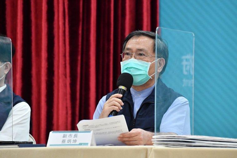 蔡炳坤表示,若疫苗有餘量,會主動協助市場人員施打,但有什麼疫苗就打什麼疫苗。圖/...