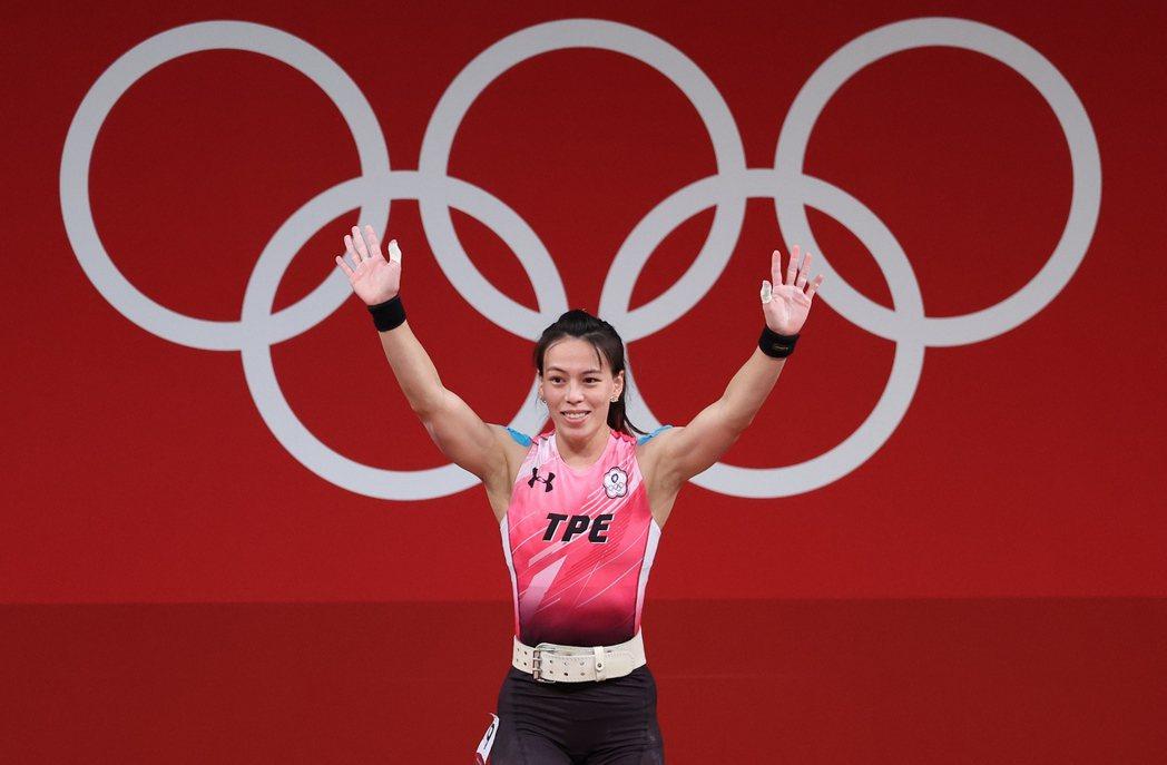 郭婞淳挺舉挑戰世界紀錄失敗,仍奪下東奧金牌。特派記者余承翰/東京攝影