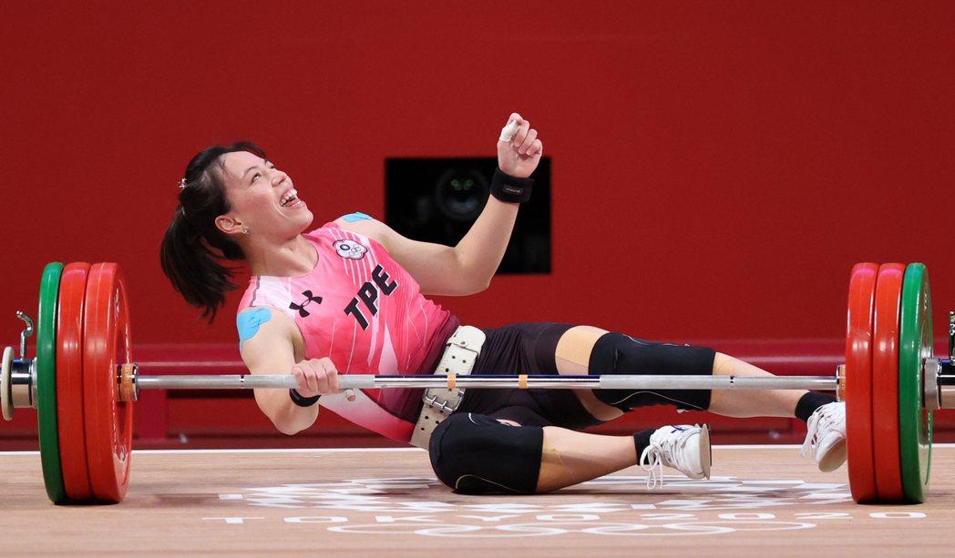 郭婞淳挺舉挑戰世界紀錄失敗。特派記者余承翰/東京攝影