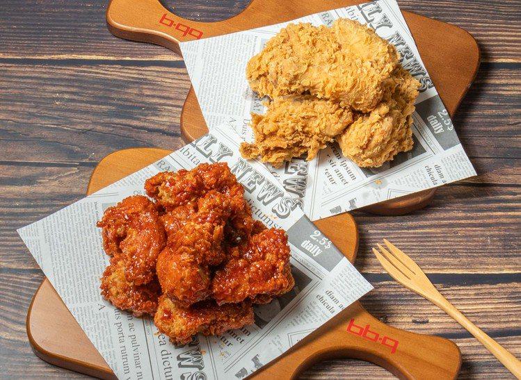 bb.q CHICKEN推出全雞系列外帶加贈「炸年糕」的優惠。圖/全家國際餐飲提...