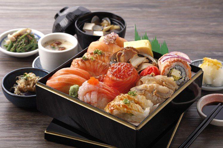 欣葉握壽司套餐,每份660元。圖/欣葉提供