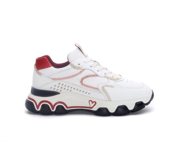 HOGAN七夕限定系列HYPERACTIVE鞋款,22000元。圖/迪生提供